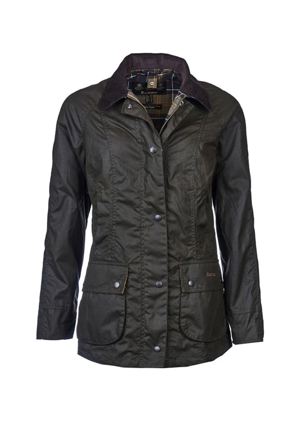 Barbour Classic Beadnell Wax Jacket -Olive
