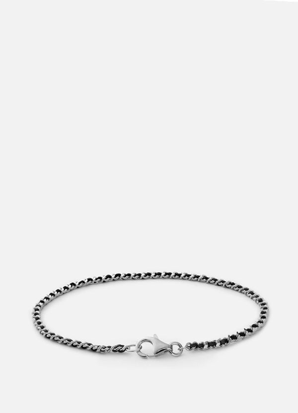 2mm Braided Chain Bracelet 101-0253