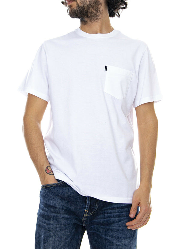 Essential Pocket Tee - White MML0908WH11