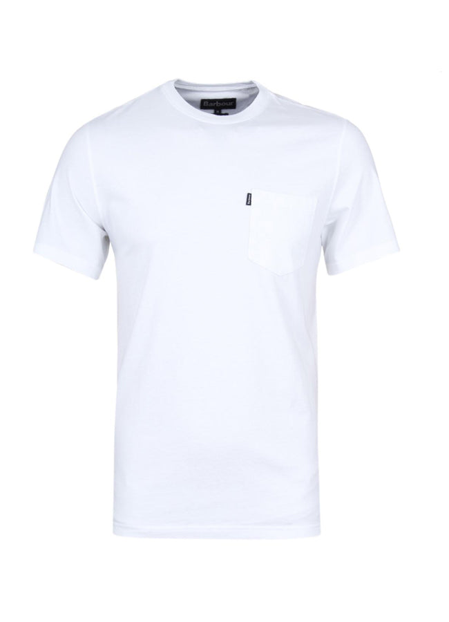 Essential Pocket Tee - White