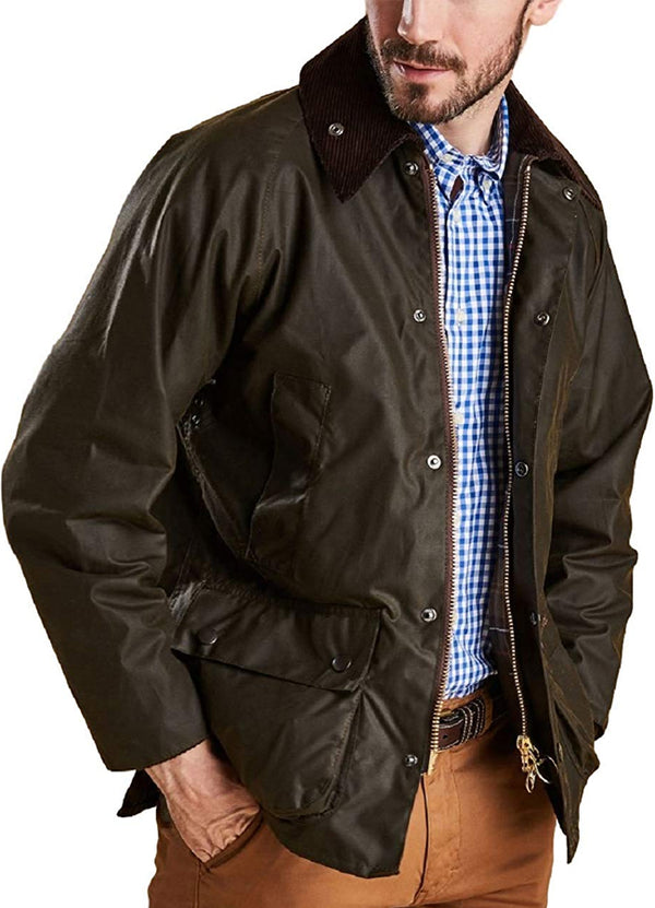 Classic Bedale Wax Jacket - Olive MWX0010OL71