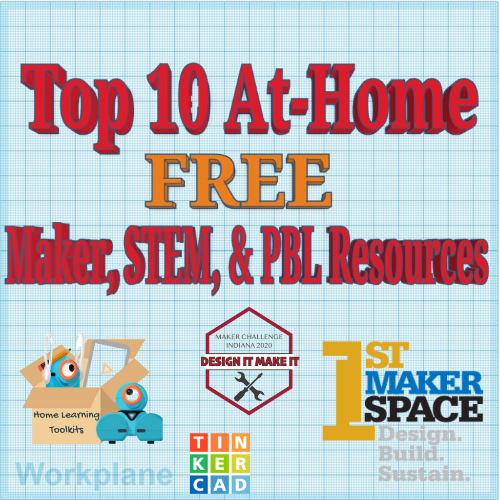 Top 10 FREE At-Home Resources for Making, STEM, and PBL