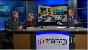 1st Maker Space Featured on Inside Indiana Business