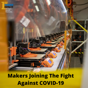Makers Join The Fight Against COVID-19