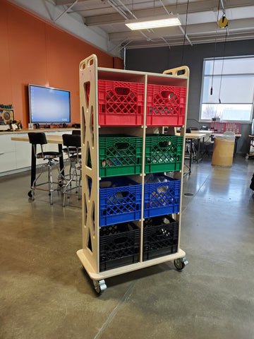 Mobile Maker Storage Tower