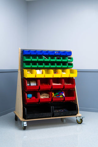 Mobile Maker Storage Cart