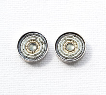 Summer Ohrstecker - Light Gray - Silber