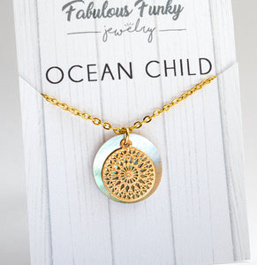 Ocean child - PERLMUTT LOVE - GOLD