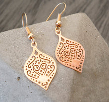 Boho Summer Ohrringe - Rose Goldfarben / Silberfarben