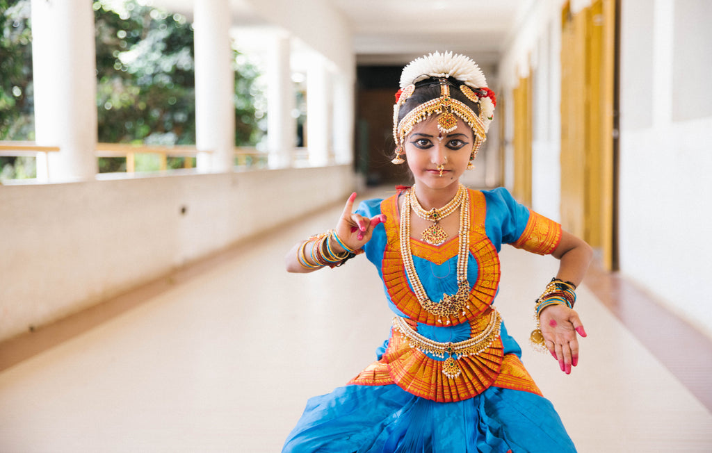 Kids classical dancing costumes