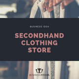 Business Titans is providing the secondhand clothing store business idea for startups.