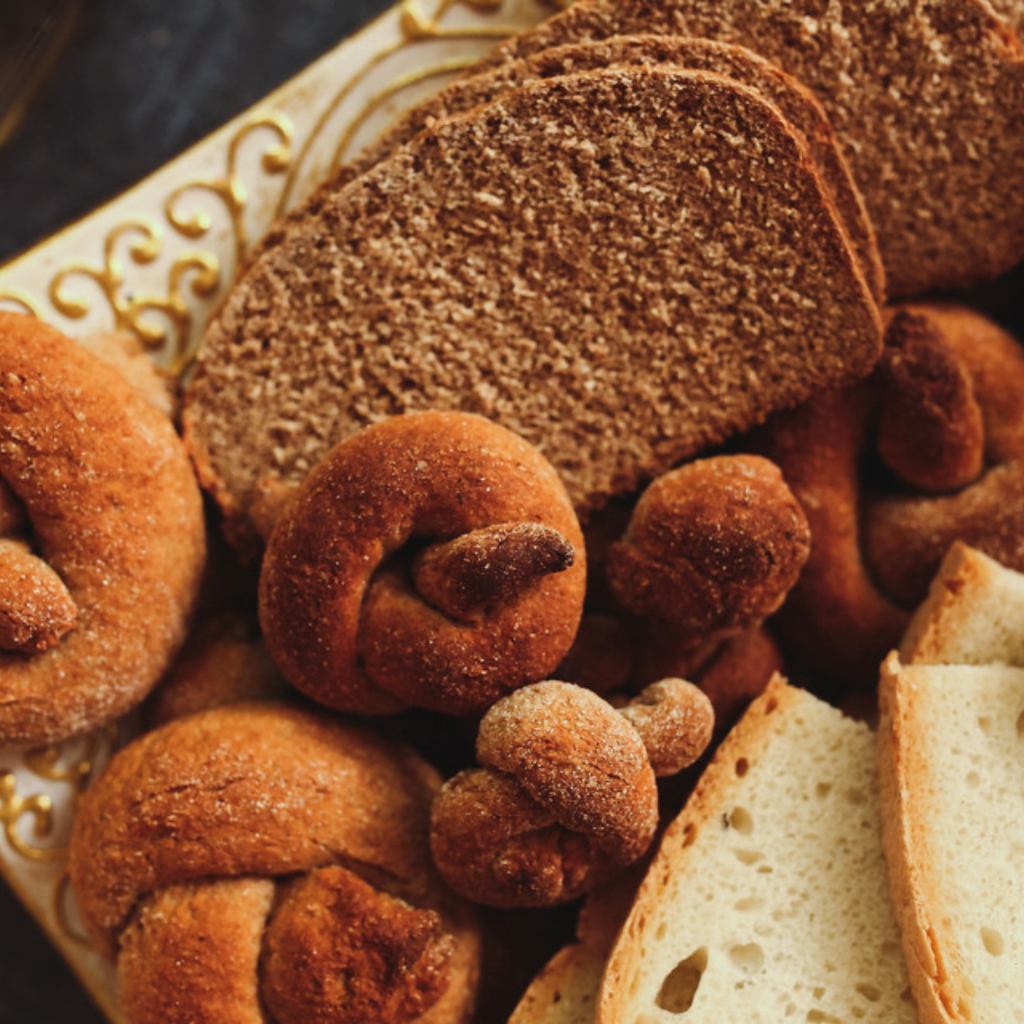 Breads and Rusks made in Bakery