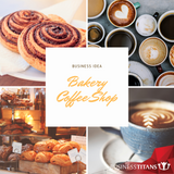 Business Titans is providing the Bakery coffee shop business idea for startups.