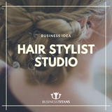 Business Titans is providing the Hair stylist studio business idea for startups.