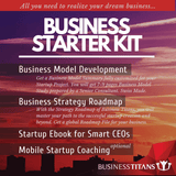 Delivery highlights of the business starter kit for business ideas.