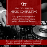 The business titans mobile startup coaching product highlights for the mixed consulting.
