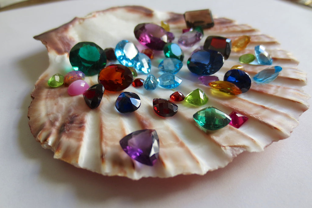 Jewelry made of seashell