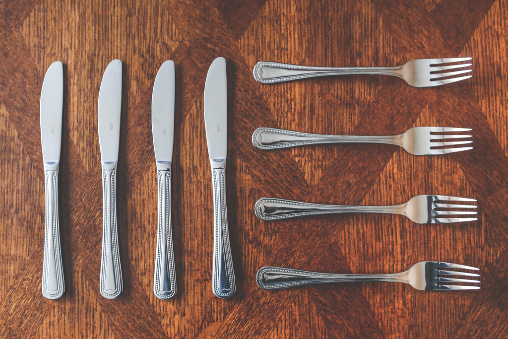 cutlery collection for restaurants