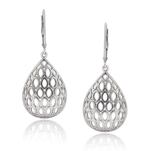 JewelonFire Sterling Silver Dangle Earrings - Assorted Colors