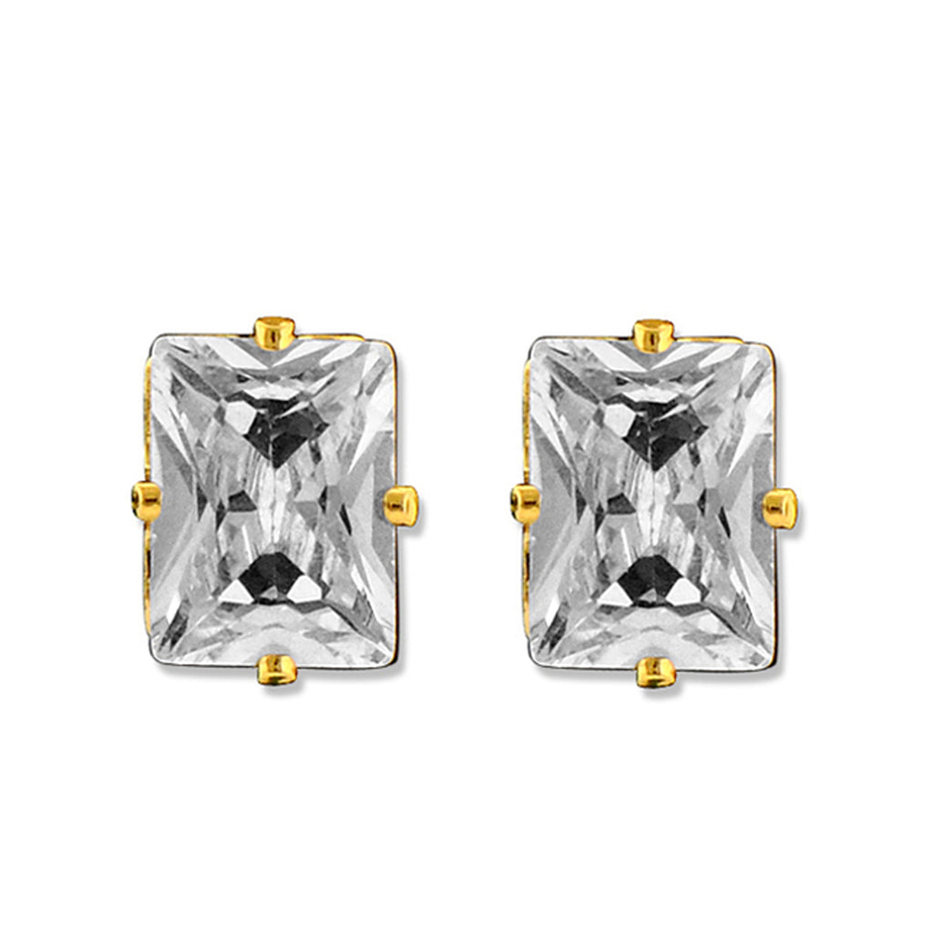 Diamonice Phoebe Cubic Zirconia Stud Earrings