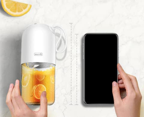 Portable Mini Fruit Juicer