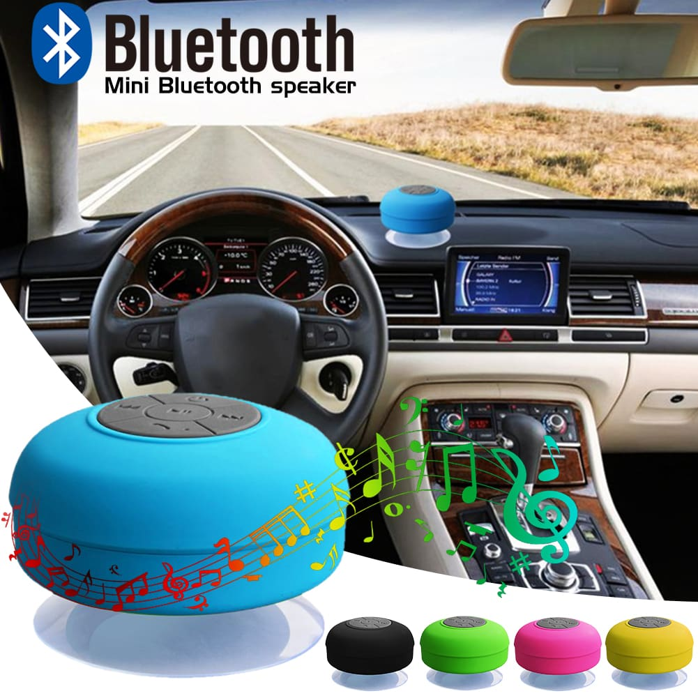 Waterproof Bluetooth Shower Speaker Radio