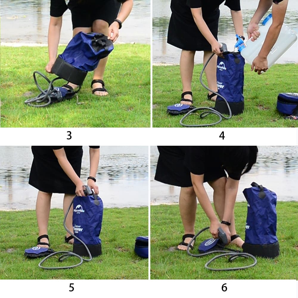 Portable Camp Shower Bag 11L