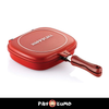 DOUBLE SIDED NON-STICK PAN PROMO