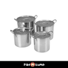STAINLESS STEEL STOCKPOT **BUY 1 TAKE 3**