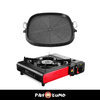 Portable Gas Stove with Korean Grill