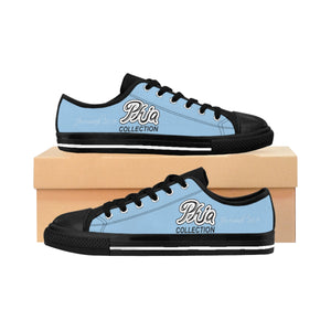 Light Blue PHIA PHIA Collection Logo Women's Sneakers