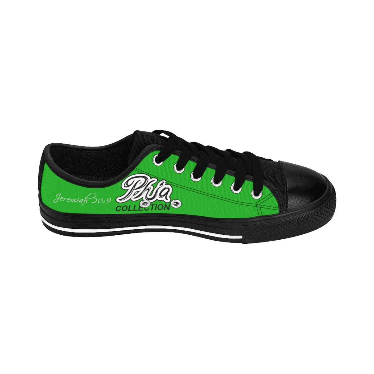 Green PHIA Collection Logo Sneakers