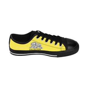 Yellow Blue PHIA PHIA Collection Logo Women's Sneakers