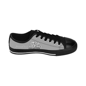 Grey PHIA Collection Logo Women's Sneakers