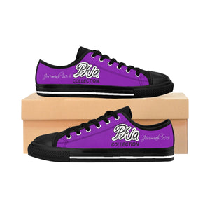 Purple PHIA Collection Logo Sneakers