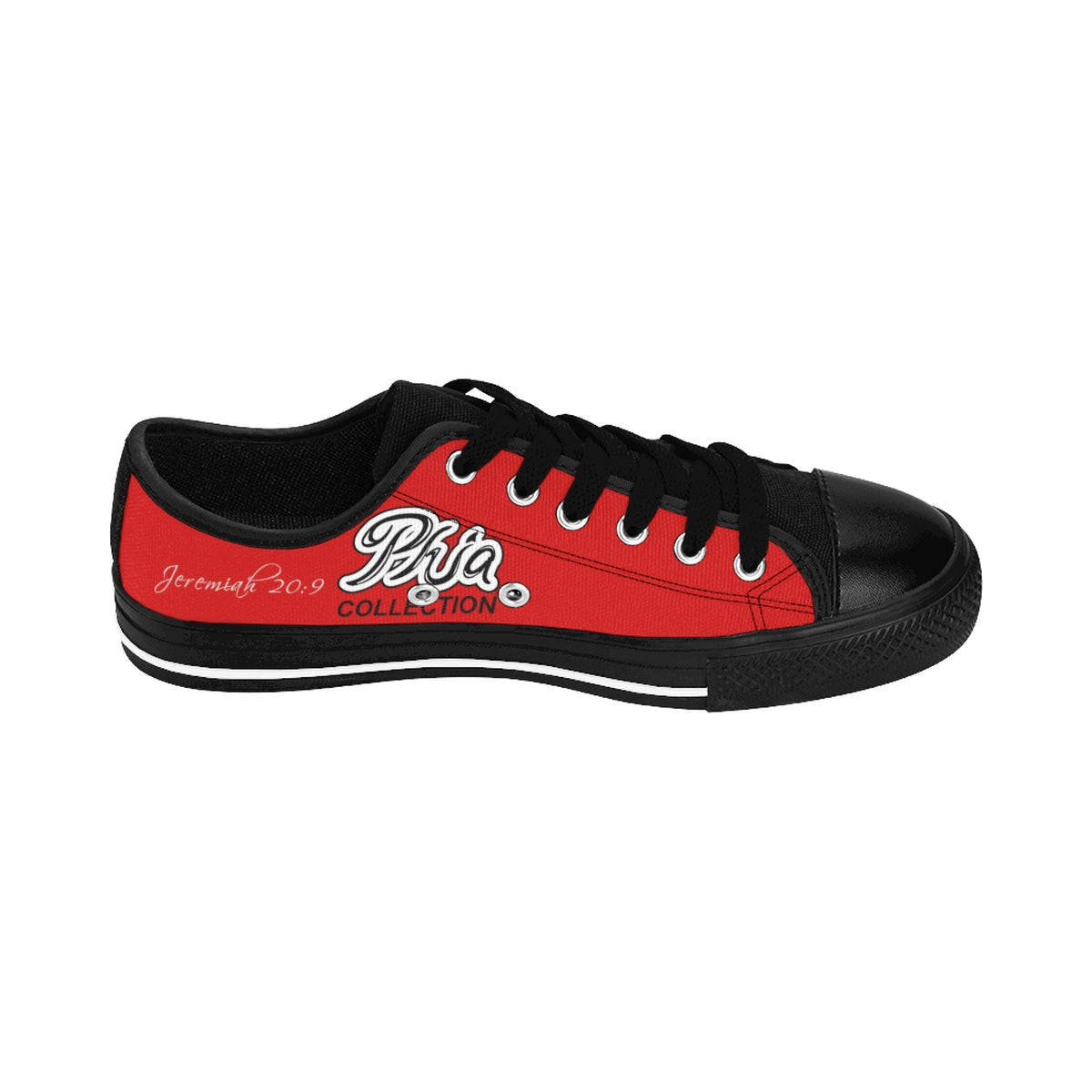 Red PHIA Collection Logo Sneakers