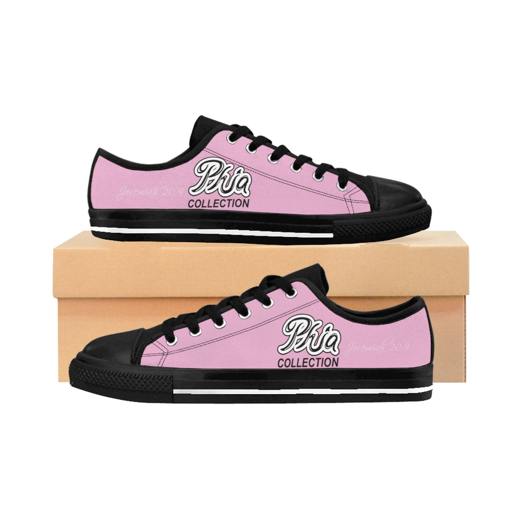 Pink PHIA Collection Logo Women's Sneakers