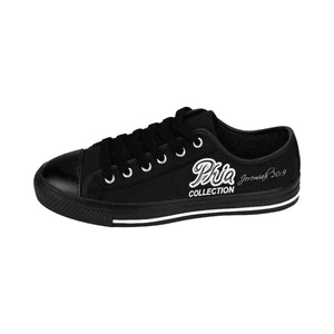 Black PHIA Collection Logo Women's Sneakers