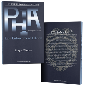 PHIA Law Enforcement Prayer Planner