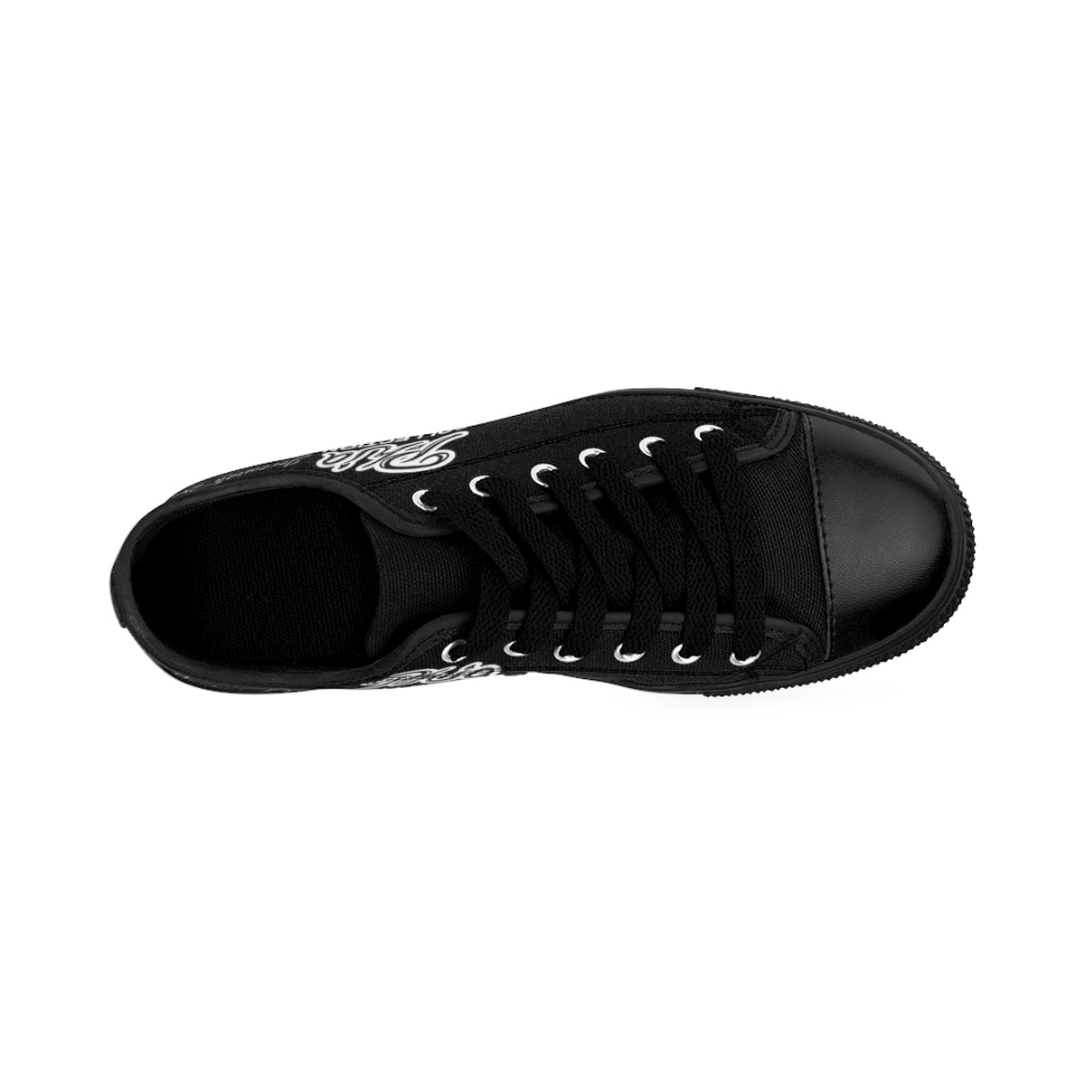 Black PHIA Collection Logo Sneakers