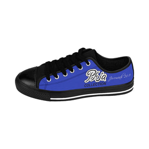 Blue PHIA Collection Logo Sneakers