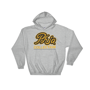 PHIA Black & Gold Printed Hoodies