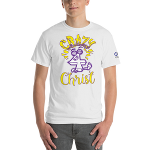 Yellow Crazy For Christ PHIA Collection Tee