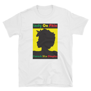 Lady On PHIA Collection Afro Tee