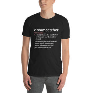 Positive Word Collection: Black Dreamcatcher T-Shirt