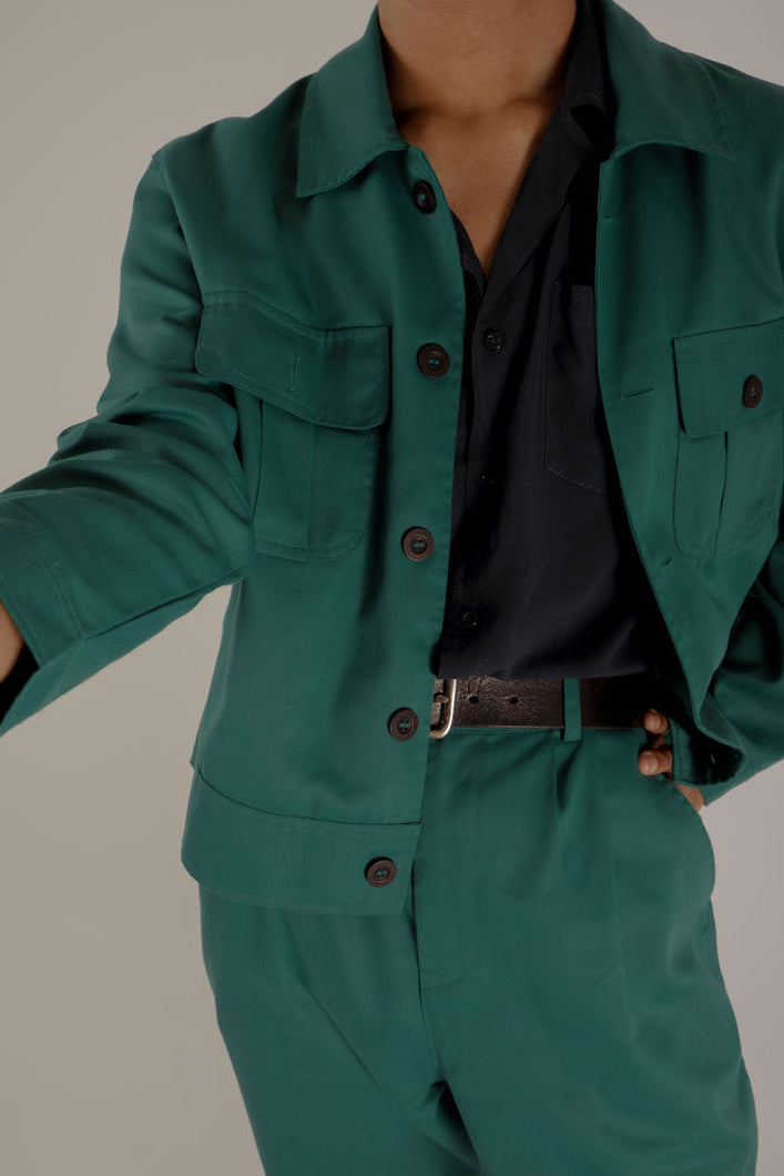 The Sea Green Jacket