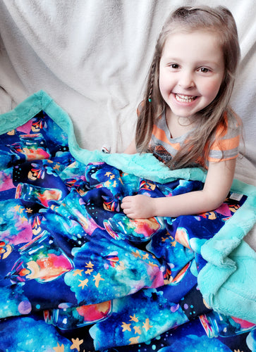 Catching Fireflies Blanket - The Snuggly Geekling