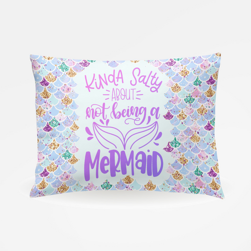 Kinda Salty Pillowcase - The Snuggly Geekling