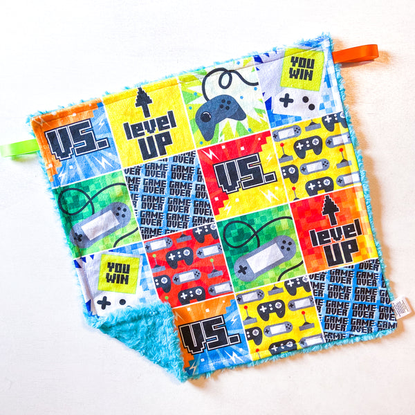 Retro Gamer Patchwork Lovey