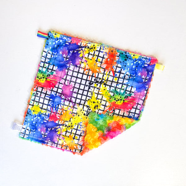 Messy Grid Splatter Lovey